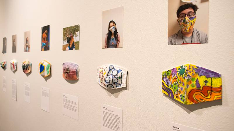 Unmasking Creativity installation view