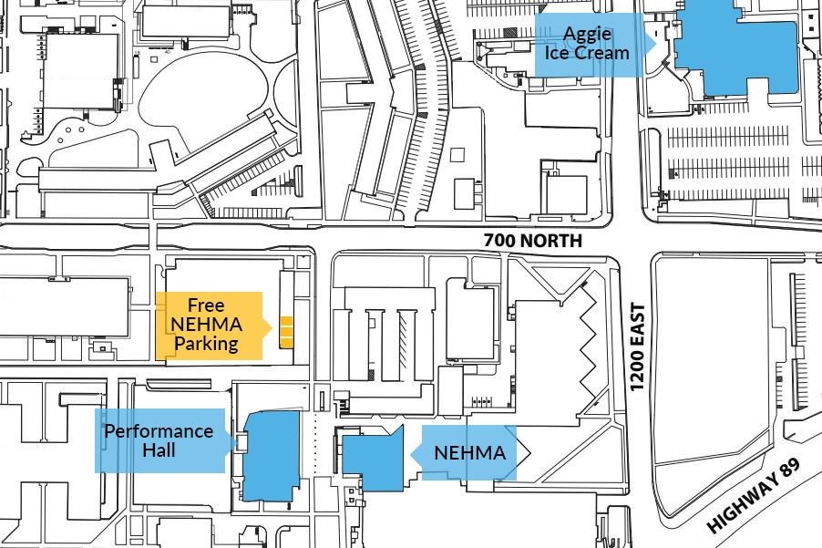 NEHMA Parking Map